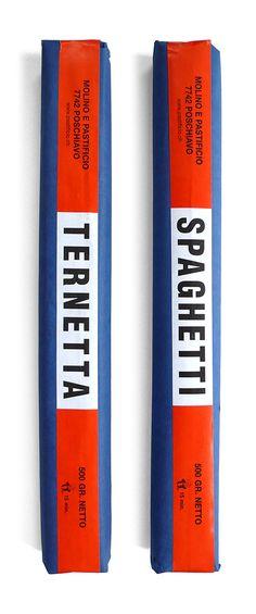 Spaghetti Packaging #minimal #design #packaging