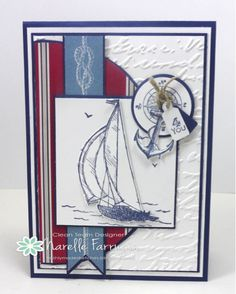 S/UP Sail Away stamp set.