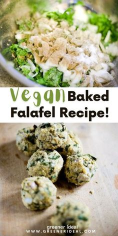 Served throughout the Middle East, these small, deep-fried chickpea balls can be eaten as meze, also known as appetizers or snacks, or as a full-fledged meal. This vegan falafel is healthier than the norm, as the mixture is baked rather than deep-fried. | Vegan Baked Falafel Recipe | Vegan Falafel Recipe | Simple Vegan Falafel Recipe | #Food #FoodRecipe #Vegan #GlutenFree #VeganRecipe #VeganFood #vegetarian #falafel #bakedfalafel #healthyfalafel #Snack #Baking #Appetizer #BakingRecipe Vegetarian Snacks, Vegetarian Recipes Dinner, Delicious Vegan Recipes, Easy Healthy Recipes, Lunch Recipes, Healthy Food Quotes, Healthy Food List, Healthy Foods, Vegan Falafel Recipe