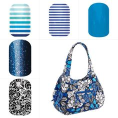 Jamberry Nail designs that match Vera Bradley bags!!!