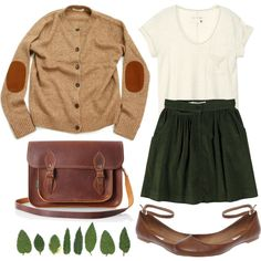 The green skirt!