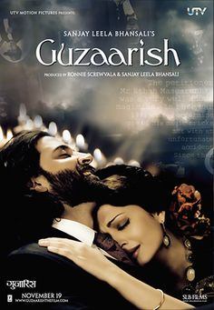 I love Bollywood! This film is a big reason why. My two favorite Hindi actors, Hrithik Roshan, and Aishwarya Rai-Bacchchan, along with one of my favorite Directors Sanjay Leela Bhansali in a film that is truly a work of art. Hrithik Roshan, Hindi Movies Online, Imdb Movies, Movie Songs, Movie Film, Movie Reels, Romantic Movies, Romantic Pics, Indian Movies