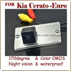 [Visit to Buy] car rear camera car parking  monitor reversing monitor rearview camera for KIA CERATO-Euro  Cerato Euro GL MT night vision #Advertisement