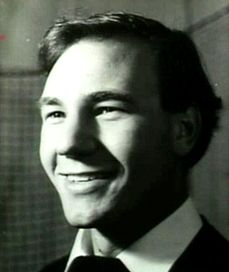 A young Patrick Stewart