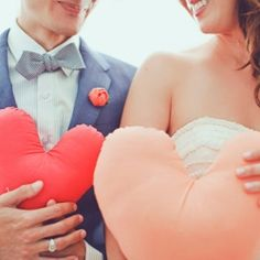 hearts  for engagement photos.