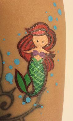 Princess (Ariel) Forearm Art