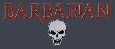 The Barbarian logo - WWE