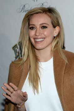 Hilary Duff in 'Elephant Man' Opening Night Arrivals
