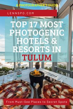 The Top 17 Most Photogenic Hotels & Resorts in Tulum - A Travel Guide Hotels And Resorts, Best Hotels, Tulum Mexico, Instagram Travel, Wander, Travel Guide, Travel Inspiration, Places, Board