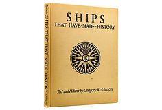 Ships That Have Made History, 1st Ed on OneKingsLane.com