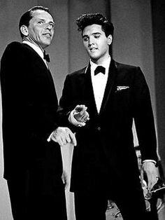 Elvis Presley & Frank Sinatra.