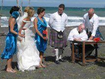 Wedding Rarangi Beach