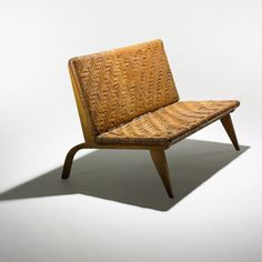 210: Edward Durell Stone / settee < Important Design Session 1, 9 December 2007 < Auctions | Wright