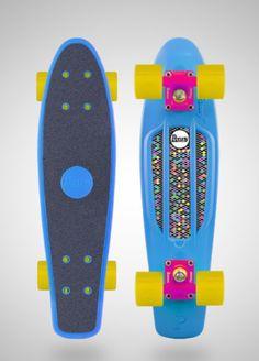 Blue penny board