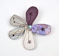 Floral Brooch | Made By Emily Notman