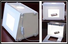Lightbox Compact Studio Kit Photographic Softbox Table Top Portable Sanoto ZMP40 #SANOTO