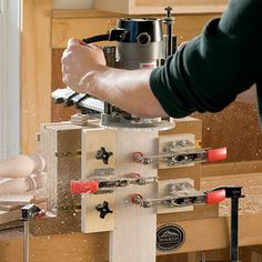 Slot Mortising Jig Woodworking Plan by Woodcraft Magazine