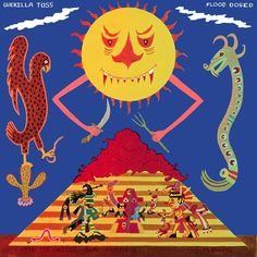 Guerilla Toss sign to DFA, releasing 'Flood Dosed' EP (stream it), playing lots of shows Vinyl Lp, Guerrilla, Cool Things To Buy, Stuff To Buy, All Brands, Superhero Logos, Album Covers, Illustration, Crystals