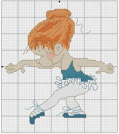 "Photo from album ""Balet XStitch"" on Yandex. Cross Stitch For Kids, Cross Stitch Baby, Cross Stitch Kits, Cross Stitch Charts, Cross Stitch Designs, Cross Stitch Patterns, Cross Stitching, Cross Stitch Embroidery, Embroidery Patterns"