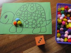 do a dot counting math activities « Preschool and Homeschool Math Activities For Kids, Number Activities, Counting Activities, Math For Kids, Math Classroom, Math Games, Preschool Activities, Math Resources, 4 Kids