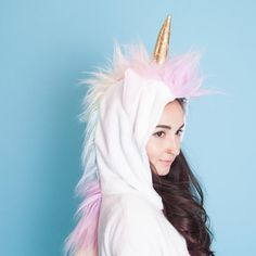 Description Features Specifications Fulfill your wildest fantasies and become the unicorn you've always dreamed of being. The Magicorn's sparkly gold horn and p