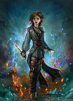 f Half Elf Warlock Leather Armor Dagger Casting CN underdark Chaotic Sorcery Planes Traveler by SirTiefling DeviantArt lg Female Gnome, Female Elf, Female Assassin, Female Wizard, Dungeons And Dragons Characters, Dnd Characters, Fantasy Characters, Female Characters, Fantasy Wizard