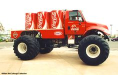 Real life Coca Cola truck