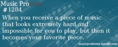 Or looking at the music u had in beginners that u thought was soo hard being able to play it super great