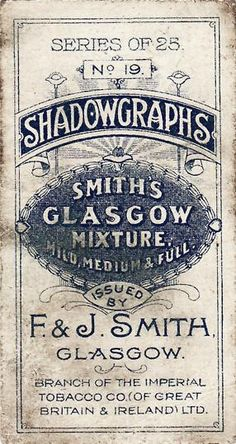 Shadowgraphs.  //  #Vintage #GraphicDesign #Inspiration