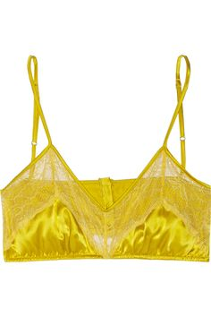 Mimi Holliday Pizazz Bralette stretch-silk and lace bra in S for $38