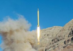 Iran launches missile from undisclosed location Photo By: REUTERS