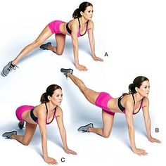 Butt exercises help you tone and firm your backside. Here are some moves from Brooke Burke-Charvet that lift your glutes so you can get a shapely and sexy butt. | Health.com