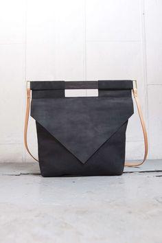 Black Slim Bag | CHIYOME - Minimalist Handbags