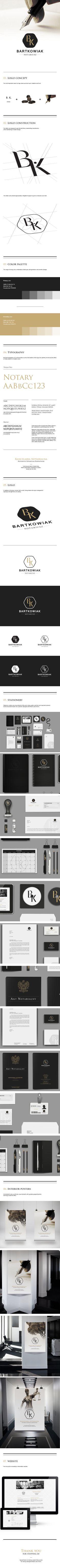Notary K.Bartkowiak | Designer: Marcin Wisniewski