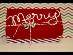 Envelope Punch Board Decorative Edge Box