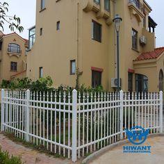 White color and appealing design aluminium profile product—— Aluminium alloy fences for villa gardens and buildings.