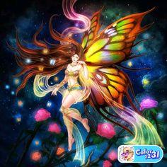 Fairy Music, Fairy Art, Coloring Apps, Divine Feminine, Art Google, Faeries, Christmas Cards, Princess Zelda, Female