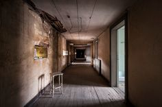 Abandoned corridor, by Vincent Ferron