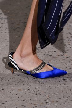 Spring 2018 Shoe Trends - The Hottest Shoe Trends From New York Fashion Week SS18