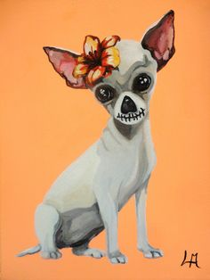 Dia del Chiuahua Muertos by noveltydoll.deviantart.com on @DeviantArt