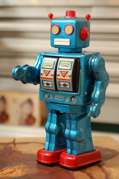 """""""Robot Made by Schylling Vintage Robots, Retro Robot, Retro Toys, Vintage Toys, 1960s Toys, Vintage Party, Cool Robots, Cool Toys, Arte Robot"""