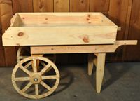 "Vegetable cart  36""x59""x25.5"""