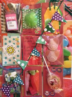 "Pocket letter palls  ""sweet treat"" front"