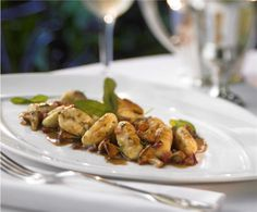 A taste of Italy - Gnocchi with Chanterelles at 150 Central Park #cruising #travel
