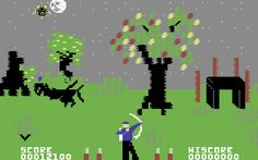 Forbidden Forest. Great atmosphere and pretty awesome technical feat for 1983. C-64.