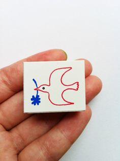 rubber stamp  bird