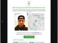 Lookout launches 'theftie' alerts to combat smartphone theft The mobile security firm thinks a phone's front-facing camera can help retrieve a stolen device.