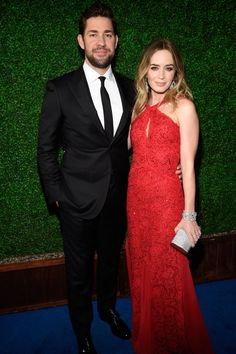Pin for Later: John Krasinski and Emily Blunt Continue to Prove Their Cute-Couple Status