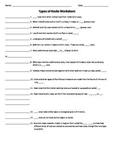 Worksheet 8th Grade Earth Science Worksheets science worksheets for 8th grade earth 6 geology and activities on pinterest