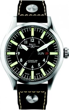 Ball Watch | Engineer Master II Aviator - Model NM1080C-L3-BK
